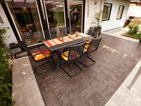pavimento in calcestruzzo stampato #idealwork #pavimentostampato #soluzioniinnovative #innovativesurfaces