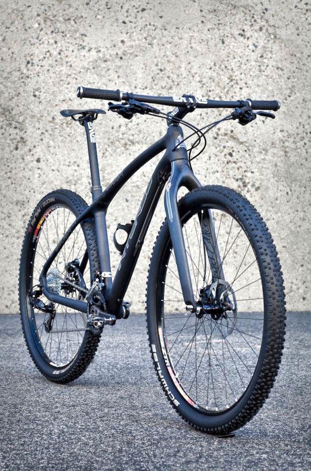 Hard Eddy carbon-frame hardtail by Intense Cycles $1800