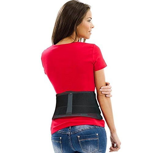AidBrace Back Brace Support Belt - Helps Relieve Lower Back Pain with Sciatica, Scoliosis, Herniated Disc or Degenerative Disc Disease for Men & Women (S/M) #AidBrace #Back #Brace #Support #Belt #Helps #Relieve #Lower #Pain #with #Sciatica, #Scoliosis, #Herniated #Disc #Degenerative #Disease #Women #(S/M)