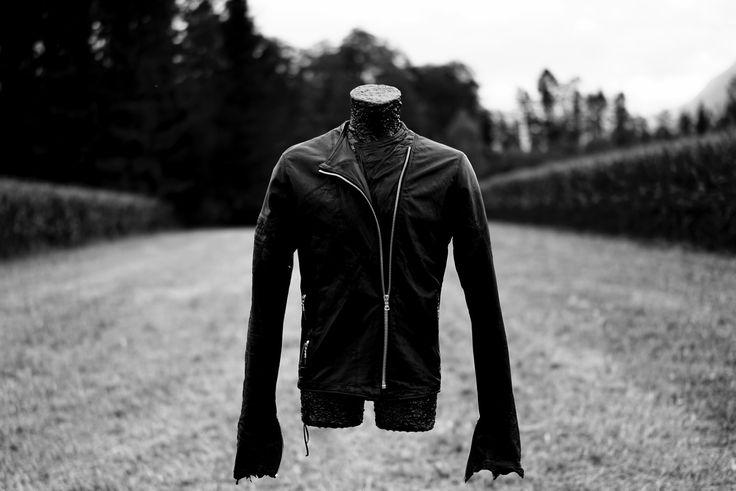 Flying Torso & Leather Jacket by Rudolf Nabu  www.RudolfNabu.com