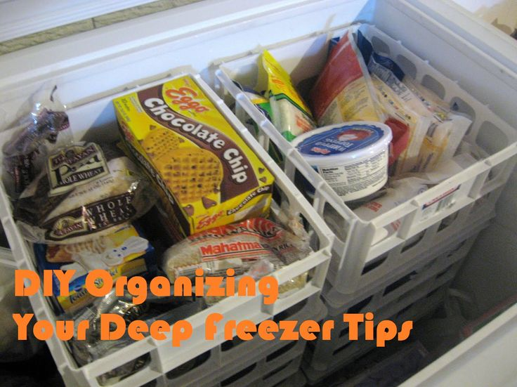DIY Organizing Your Deep Freezer Tips