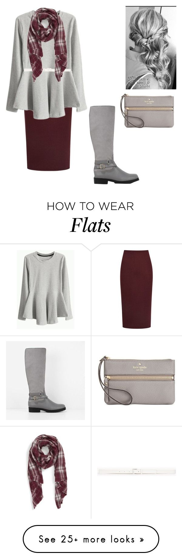 """brr"" by apostolic-country-girl-98 on Polyvore featuring Reiss, Reception, Theory, Sole Society, CHARLES & KEITH and Kate Spade"