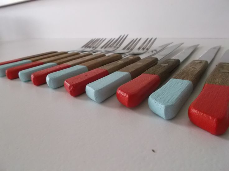 Painted Forks