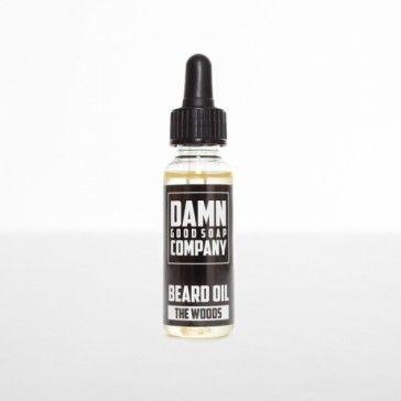 Damn Good Soap Company Beard Oil Dropper The Woods