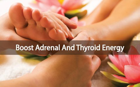 Stressed? Chronic fatigue? Hypothyroid? Here are 3 Chinese Reflexology points that can help bring you back into balance and boost your energy