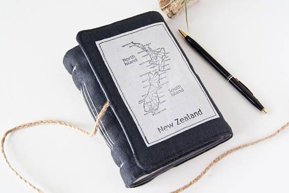 Travel Journal Cute Journal with New Zealand Map Great by Mettaville