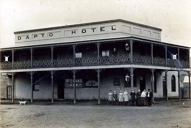 dapto post office. Dapto Hotel NSW Post Office
