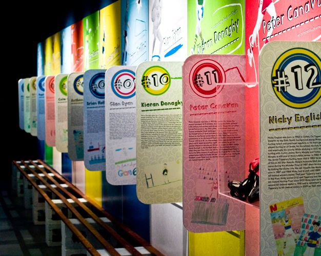 GAA-My GAA Hero Exhibition | New temporary exhibition space for kids at the GAA Museum, Croke Park | Designer: Creative Inc. | Image 2 of 9