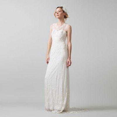Phase Eight Ivory oriana embroidered wedding dress   Debenhams 339£