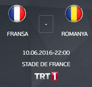 euro 2016 fransa romanya