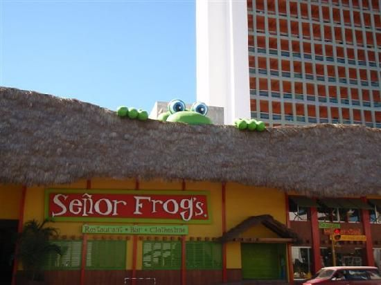 Mazatlan- Senor Frogs zzzzyook my daughter Bridget to this fun place!!