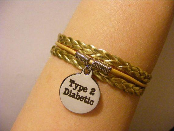 Pulsera diabético diabético joyas pulsera diabético tipo 2