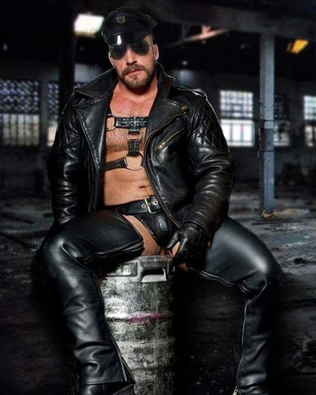 Gay video leather