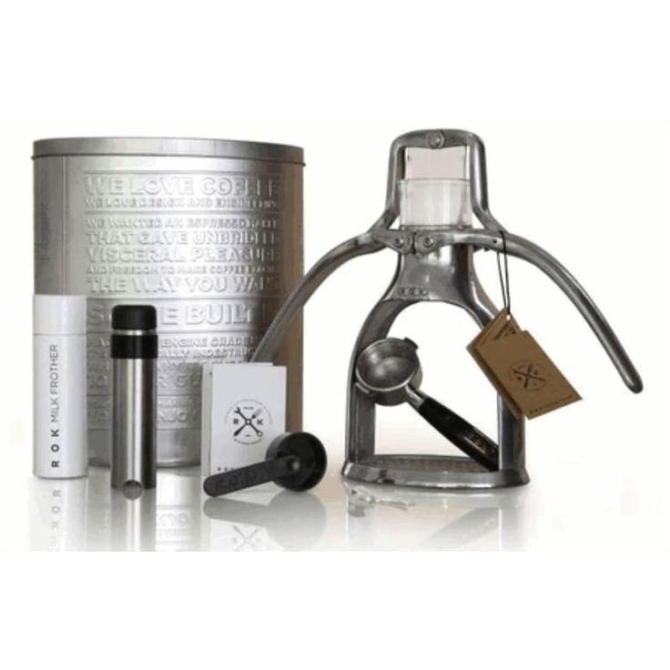 ROK Rokmaker Manual Espresso Maker - Silver (Metal)
