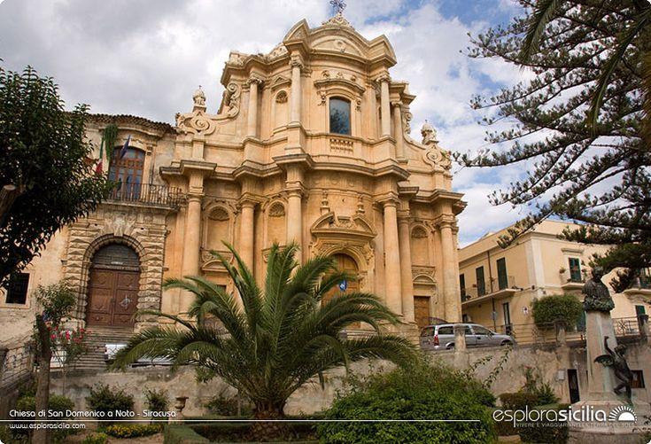 Chiesa di San Domenico a Noto - Siracusa
