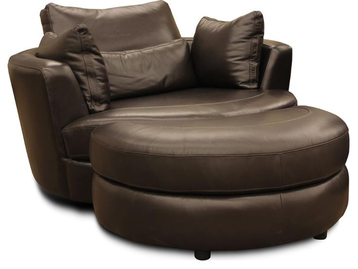 The Cuddle Swivel Chair U0026 Ottoman Are Regularly Stocked In Calvert Mountain  (Dark Brown)