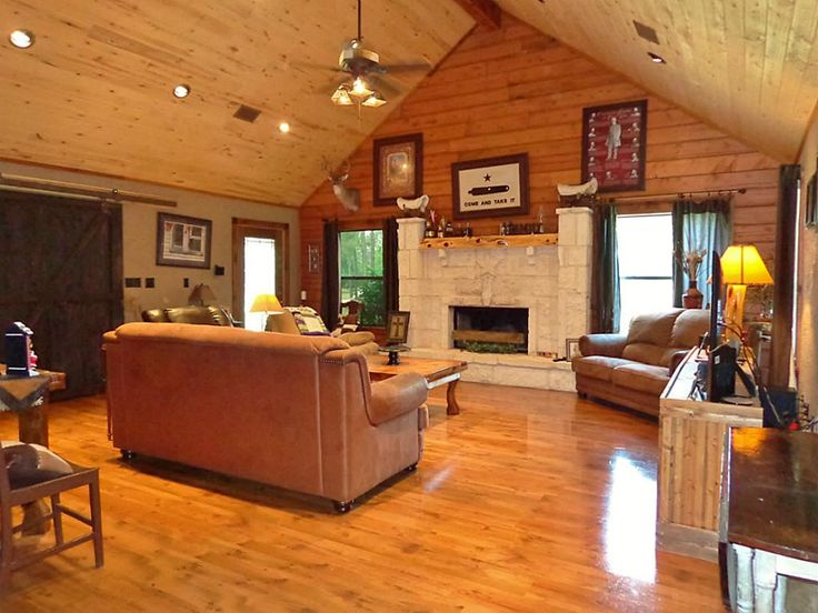 Recessed Lighting In Log Cabin Google Search Cabin
