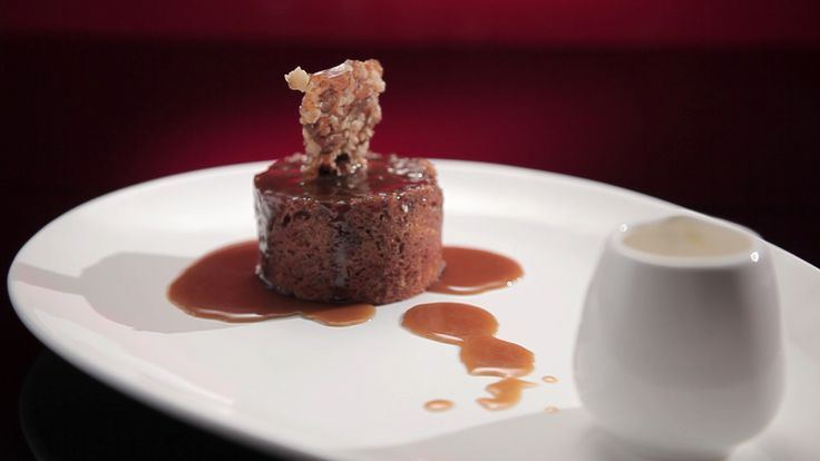 Sam and Chris' Sticky Date and Walnut Pudding from S4 of MKR: http://gustotv.com/recipes/dessert/sticky-date-walnut-pudding/
