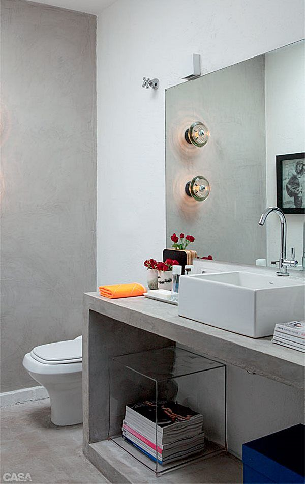 130 melhores imagens de banheiro no pinterest banheiro for Lavabo industrial