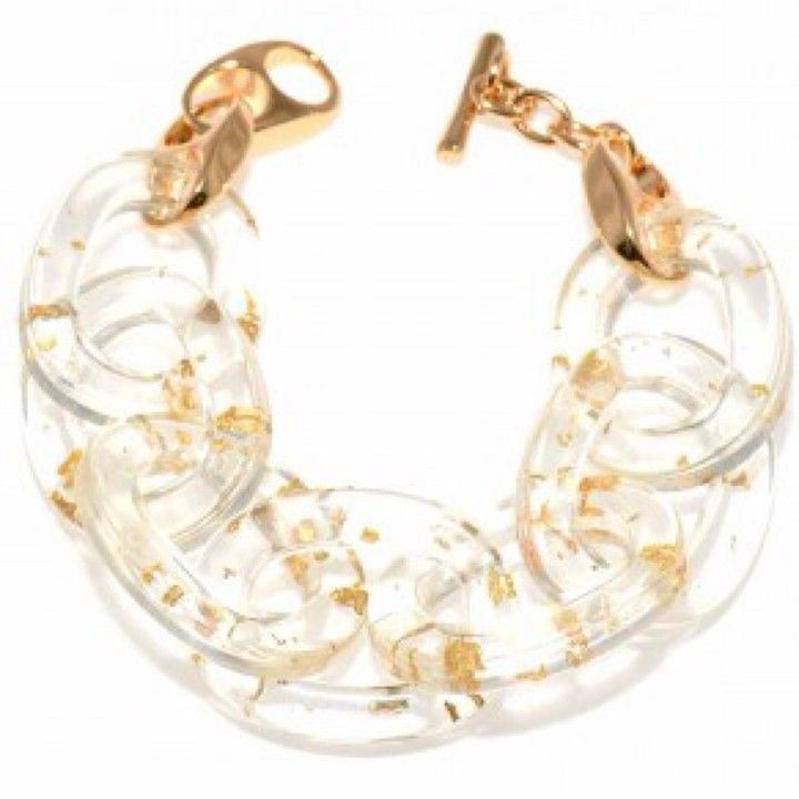 B897CLR Clear Rings Bracelet from Turn Her Style, LLC for $30.50 on Square Market