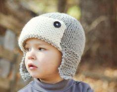 Шапка-ушанка для мальчика с описанием