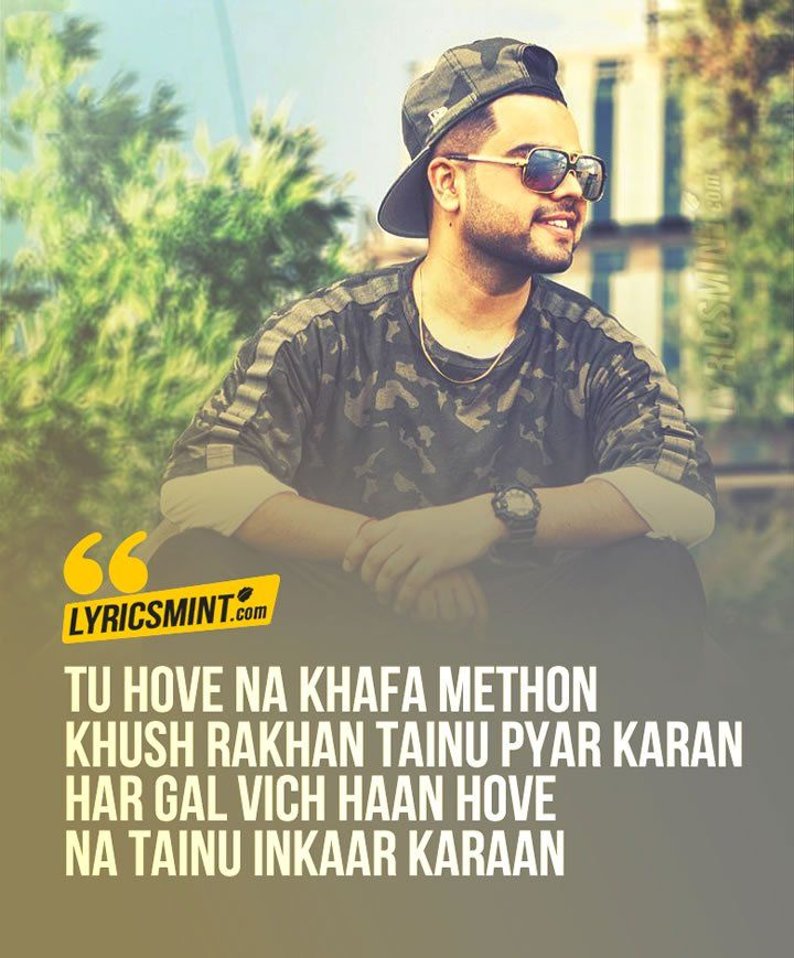 Akhil Rukh Lyrics - A Punjabi Song http://www.lyricsmint