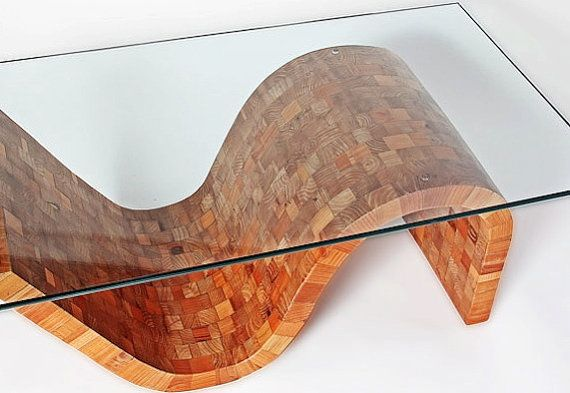 Modern Coffee Table Reclaimed Wood Coffee Table by nicklopezart