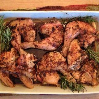Balsamic Roast Chicken (Pollo al Forno con Aceto Balsamico)