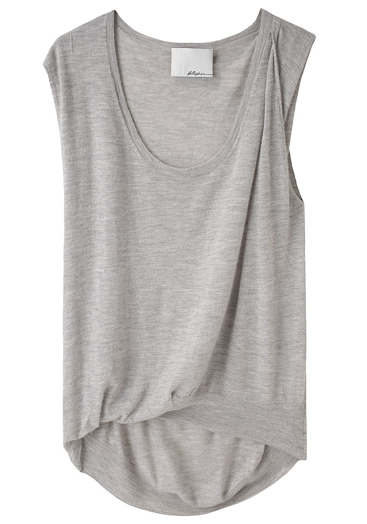 3.1 Phillip Lim / Tuck Front Shell