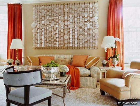 Декоративные подушки для дивана в интерьере комнат | Школа дизайна интерьера