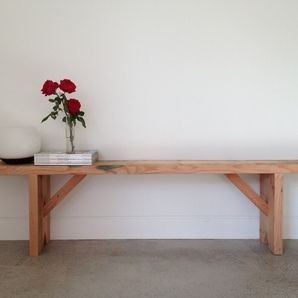 Recycled Oregon Timber Bench Seat