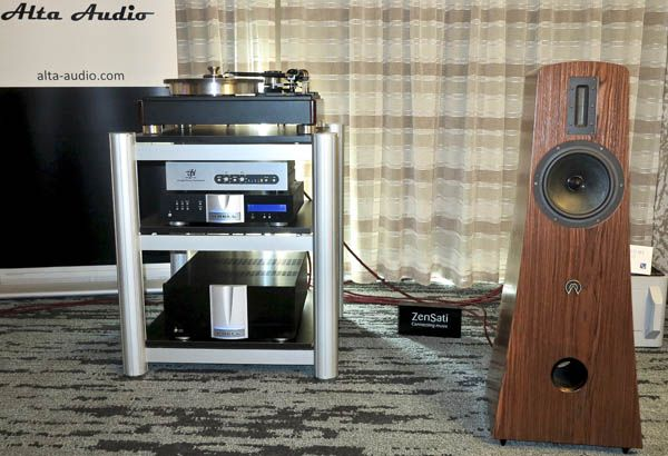 Krell Illusion Ii Preamp And Duo 300 Xd Amplifier Vpi Hw 40 Turntable Audio Technica Art 1000 Cartridge Alta Audio Alec Lou Loudspeaker Audio Technica Audio
