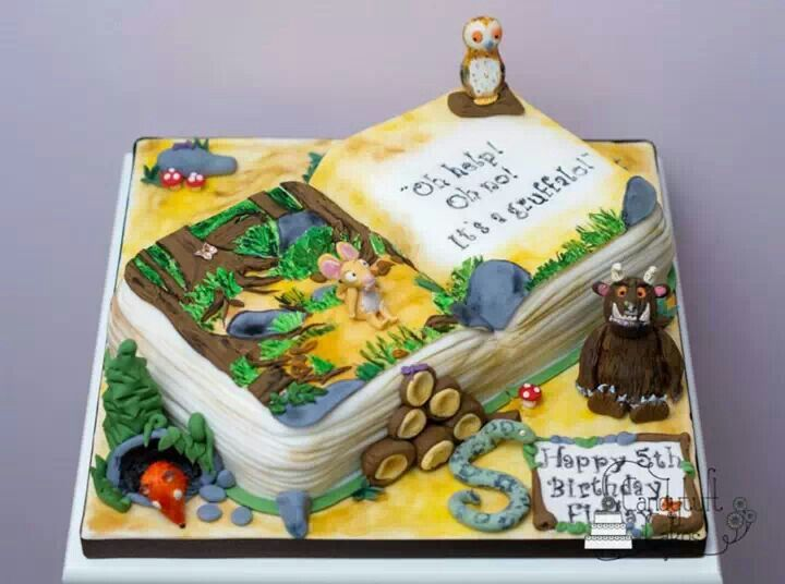 Disney Cake Decorating Book : Gruffalo book cake The gruffalo Pinterest Kid, For ...