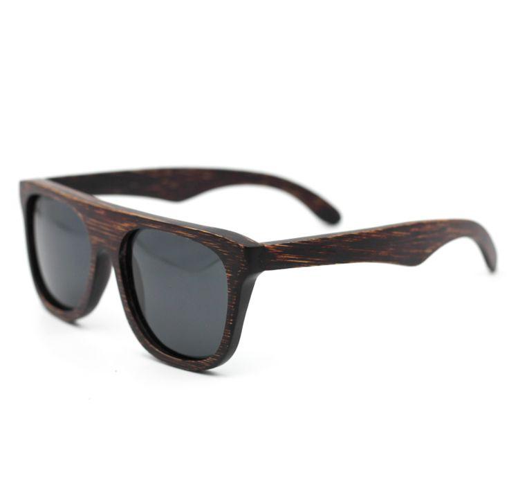 $34.00 - Wooden (Dark) Designer Sunglasses.