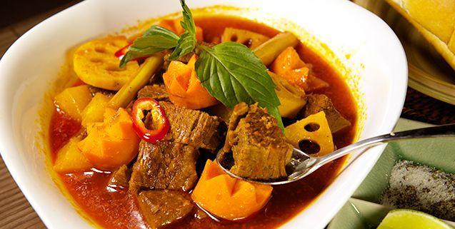 Spicy Beef Stew   Asian Food Channel