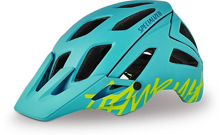 FEATURES Equally suited for trail rides, enduro races, and anything in-between, the Ambush provides trail and all mountain riders with the lightest and most ventilated extended coverage helmet availab