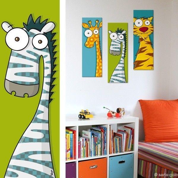 Les 25 meilleures id es de la cat gorie dessin de z bre for Decoration murale zebre