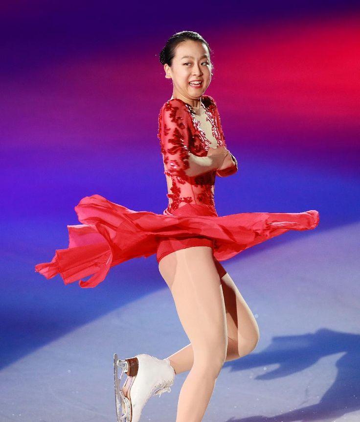 「THE ICE」で演技を披露する浅田真央=大阪市中央体育館(撮影・松永渉平)