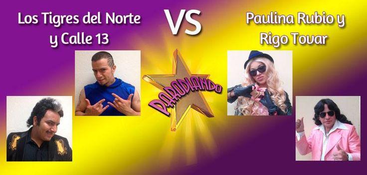 23 de Junio - June 23 con ustedes Paulina Rubio y Rigo Tovar. with you Rigo Tovar and Paulina Rubio.  http://www.youtube.com/watch?v=RyBLtsB7ipo