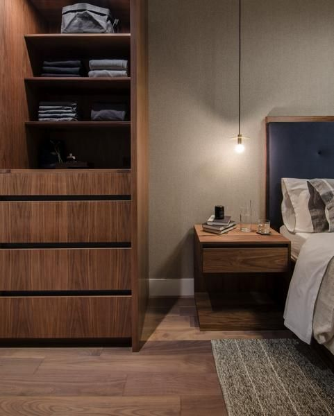 Custom bedroom storage cabinet | Union Wood Co. in vancouver, BC