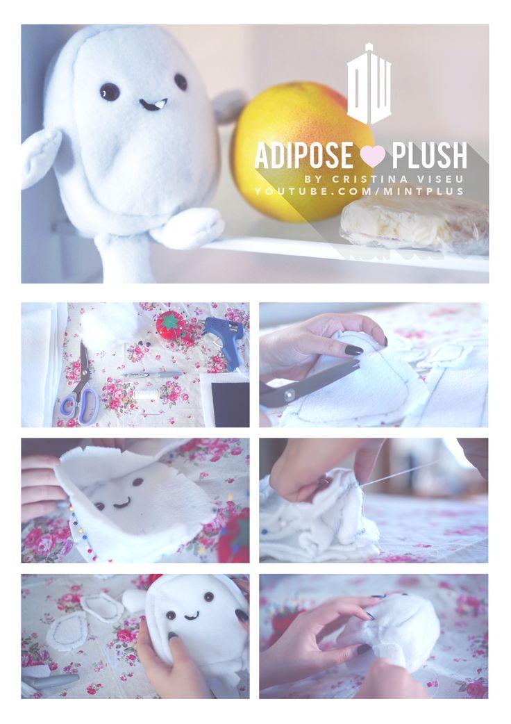 #DIY #doctorwho adipose plushie!