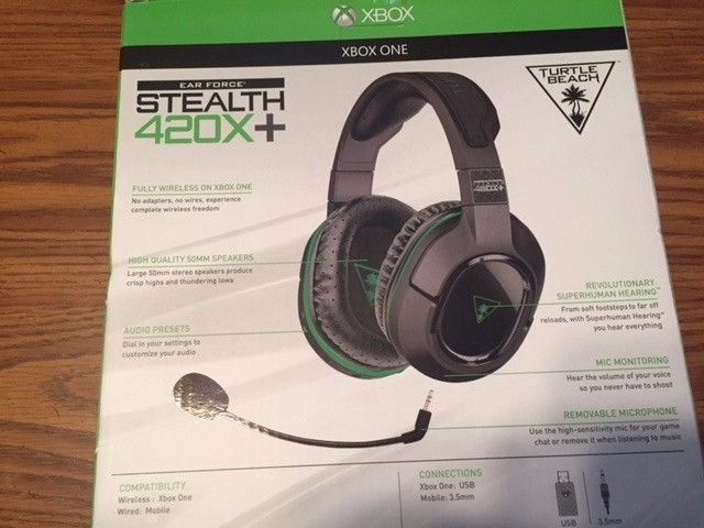 NEW Turtle Beach - Ear Force Stealth 420X+ Wireless Gaming