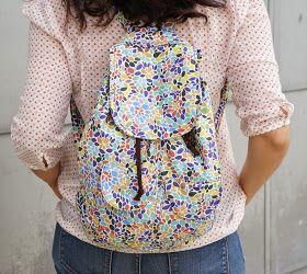 ILATELA: Tutorial: DIY, mochila para el día a día