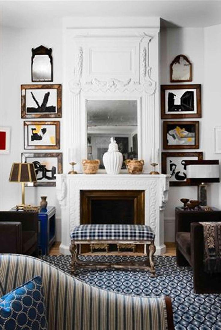 fireplace: Lorenzo Castillo, Interior, Livingrooms, Living Rooms, Idea, Fireplaces, House, Homes, Design