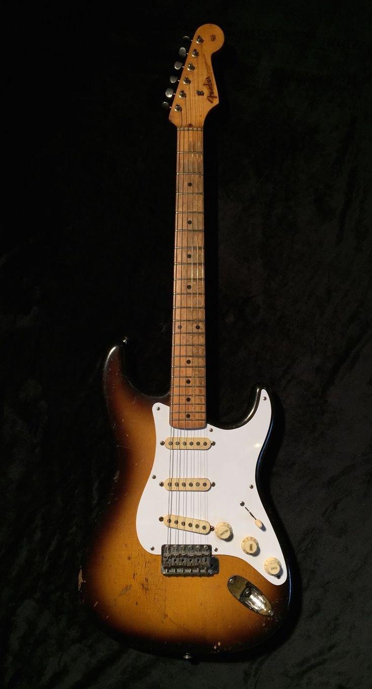 1957 Fender Stratocaster 57 Strat Electric Guitar Vintage All Original Collector | eBay