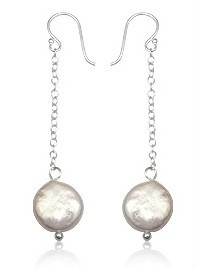 Sterling Silver Natural Pearl Earrings Choose Your Style | eBay