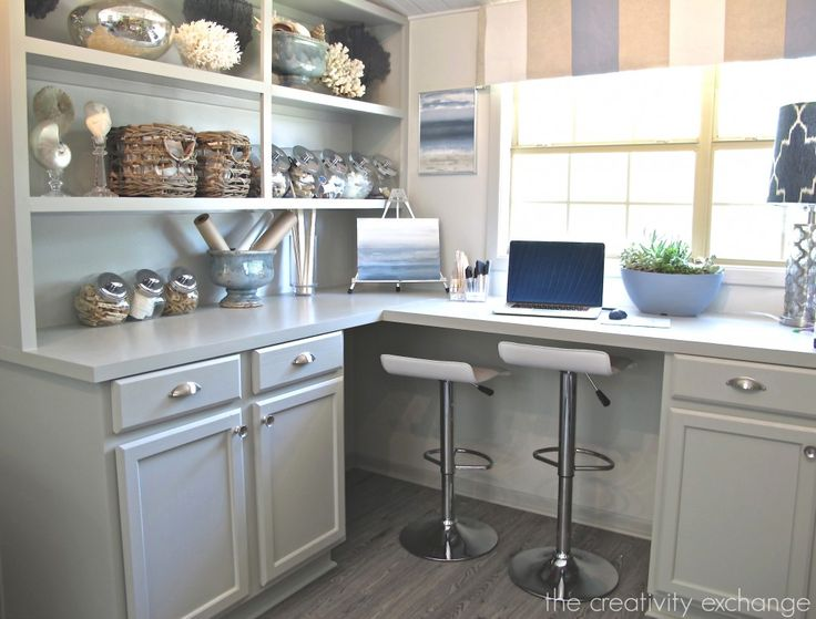 Built In Cabinets Painted With Mindful Gray By Sherwin Williams The Creativity Exchange