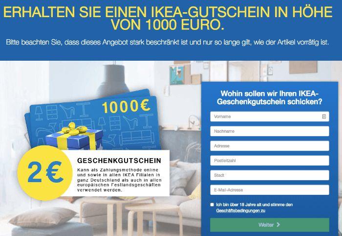 Gewinnspiel Ikea