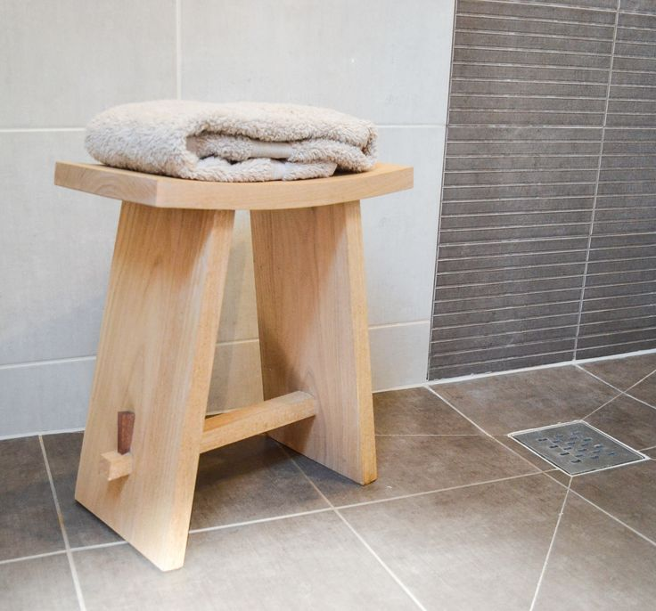 Japanese Bathing Stool.