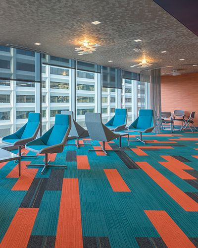 Interface And DPop Creates A Culture Enhancing Workspace At Rapid Advance.